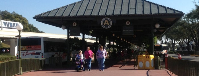 Magic Kingdom Bus Stop is one of Trips.