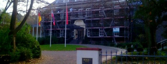 Romantik Hotel Kieler Kaufmann is one of WiFi Hotspots Kiel.