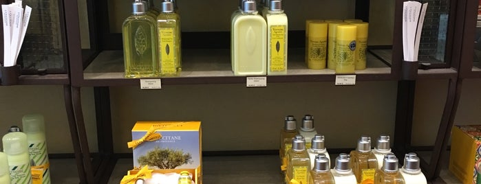 L'occitane is one of Nizza.