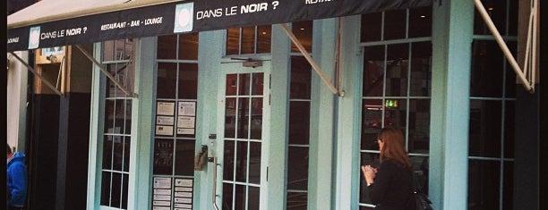 Dans le Noir is one of London.