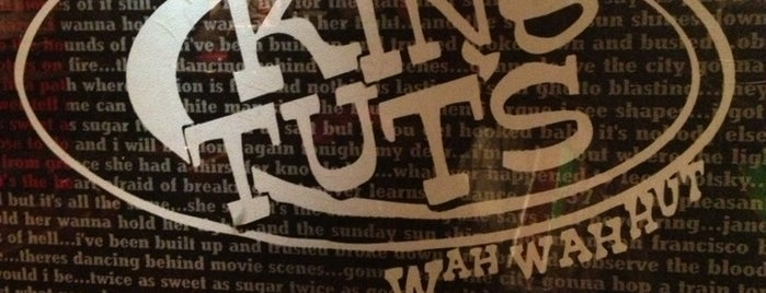 King Tut's Wah Wah Hut is one of Glasgow-go-go!.