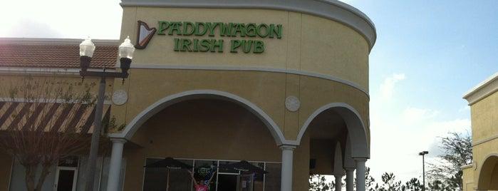Paddy Wagon Irish Pub is one of Drink.