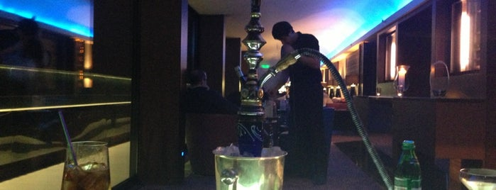 B-hush rooftop lounge bar is one of Kiev.
