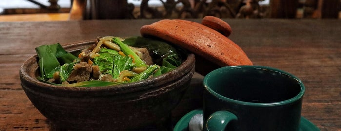 Kafe Kebon is one of Food Spots @Bandung.
