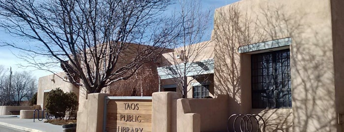 Taos Public Library is one of Censored Internet.