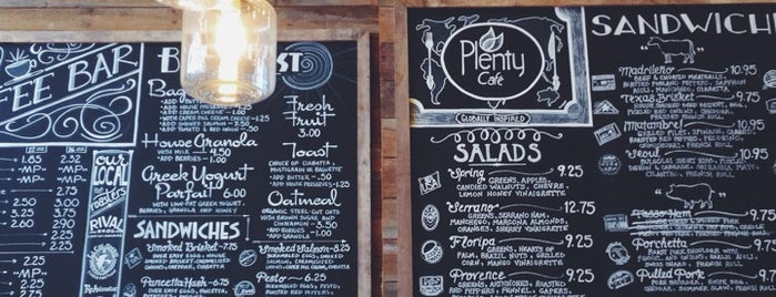 Plenty is one of Eating my way through Philly.