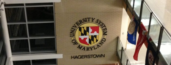 University System Of Maryland At Hagerstown is one of Colleges and Universities in Maryland.