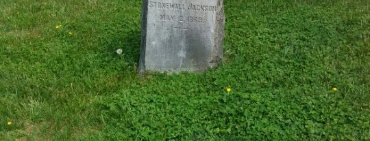 Stonewall Jackson's Arm is one of Virginia.