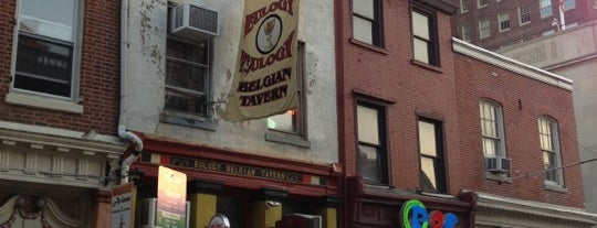 Eulogy Belgian Tavern is one of Philly Favorites.