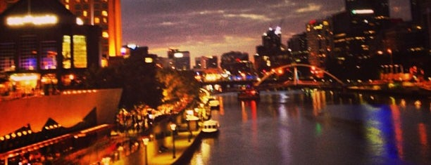 Princes Bridge is one of Love In Dear Melbourne.