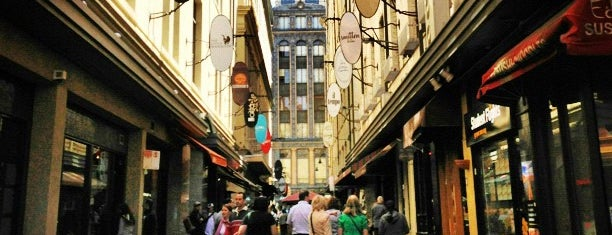 Degraves Street is one of Love In Dear Melbourne.