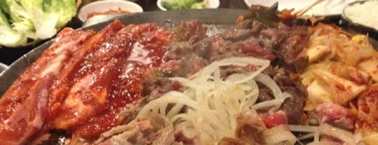 Honey Pig Gooldaegee Korean Grill is one of Ethnic Dinner Club.