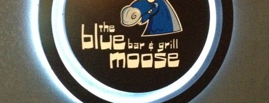 The Blue Moose Bar and Grill is one of seveneightfive local flavor.