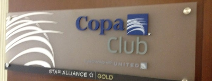 Copa Club is one of Salas VIP-Lounges.