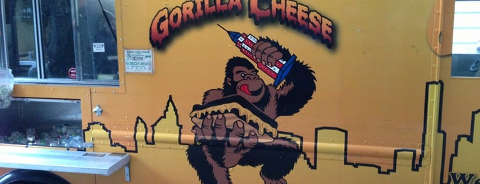 Gorilla Cheese Truck NYC is one of NYC Food on Wheels.