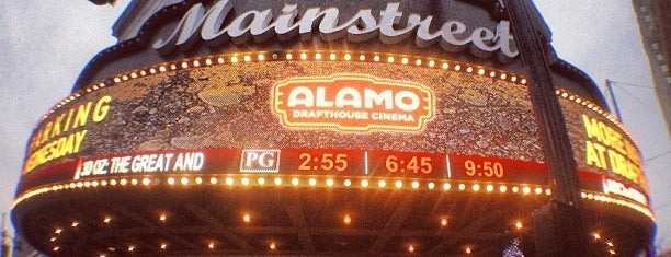 Alamo Drafthouse Mainstreet is one of We're Not in Kansas City, Toto.