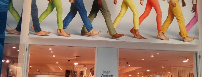 Gap is one of Shopping.