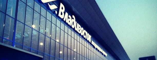 Vladivostok International Airport (VVO) is one of Must-visit in Vladivostok, Russia.