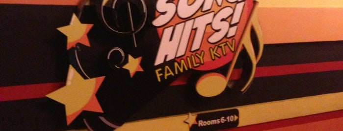 Song Hits! Family KTV is one of Places to GO.