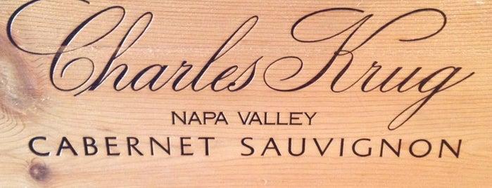 Charles Krug Winery is one of Regular Spots.