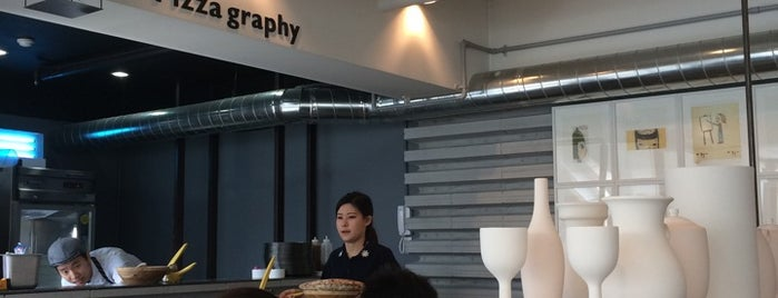 Pizza Graphy is one of PLACES@홍대.