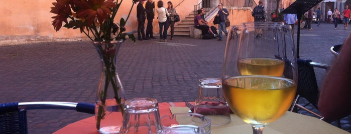 Ombre Rosse Caffè is one of The 15 Best Places for Artisan in Rome.