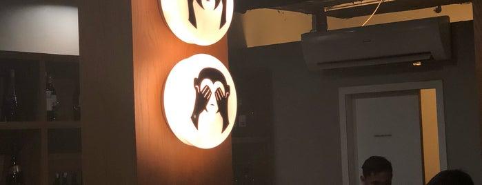 3 Wise Monkeys is one of FAVORITE JAPANESE FOOD.