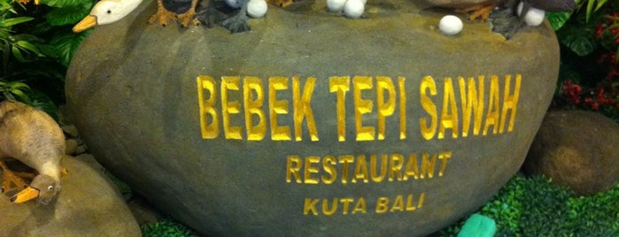 Bebek Tepi Sawah Restaurant is one of Bali Culinary.