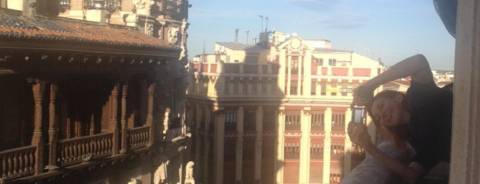 Madrid is one of World Capitals.