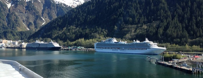 Port of Juneau is one of Alyssa's Alaska visit.