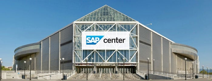 SAP Center at San Jose is one of My favorite Venues.