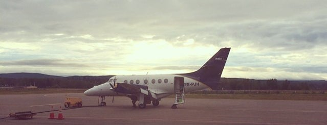 Hagfors Flygplats (HFS) is one of Airports - Sweden.