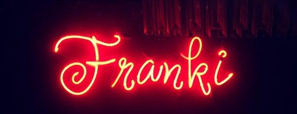 Franki is one of Рестораны Спб.