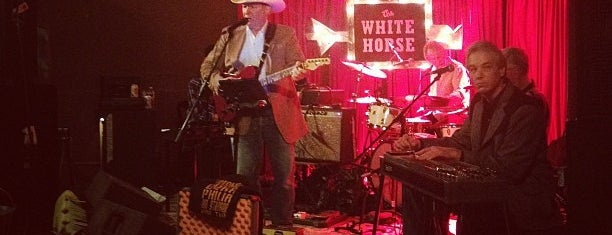 The White Horse is one of Hook 'Em Horns- Austin.