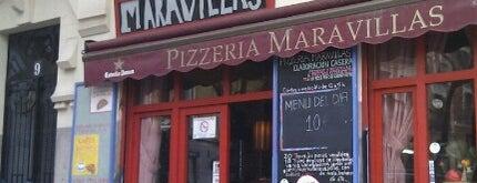 Pizzeria Maravillas is one of Malasaña - bares, restaurantes y cafés.