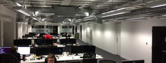 Musicmetric is one of Silicon Roundabout / Tech City London (Open List).