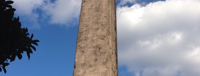 The Obelisk (Cleopatra's Needle) is one of NEW YORK CITY : Manhattan in 10 days! #NYC enjoy.