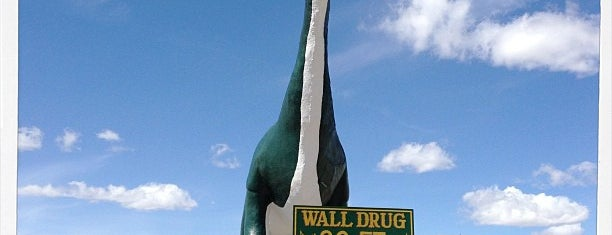 Wall Drug Dinosaur is one of Rapid City, SD.