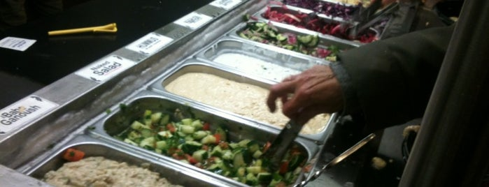 Amsterdam Falafelshop is one of Great dishes of 2012.