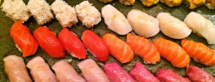 Sushi Yasuda is one of NYC.