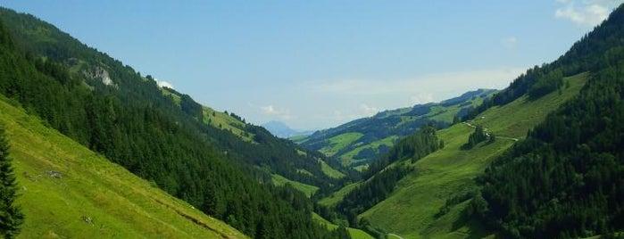 Labalm is one of Mountainbiken im Brixental.