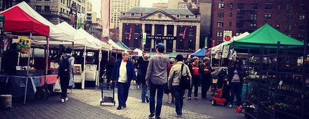 Union Square Greenmarket is one of Park Highlights of NYC.