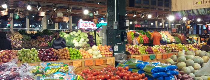 Reading Terminal Market is one of live to eat..