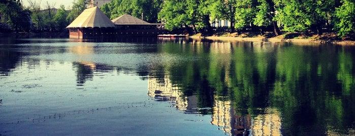 Clean Ponds is one of Надо посетить.