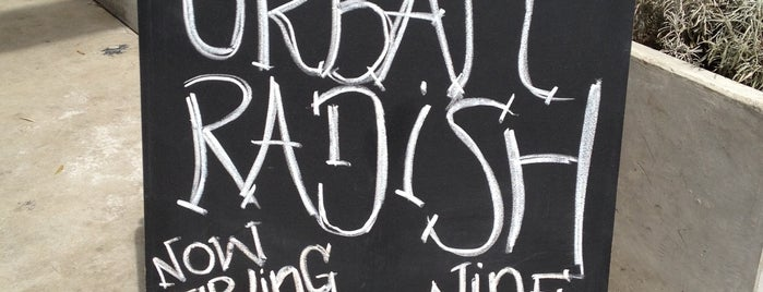 Urban Radish is one of SoCal Shops, Art, Attractions.