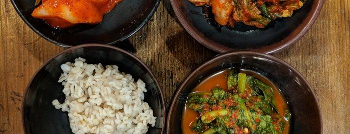 Hangari Bajirak Kalguksoo is one of The 15 Best Korean Restaurants in Los Angeles.