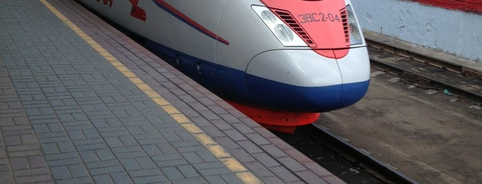 Поезд № 759/760 «Сапсан» Москва — Санкт-Петербург is one of Try.