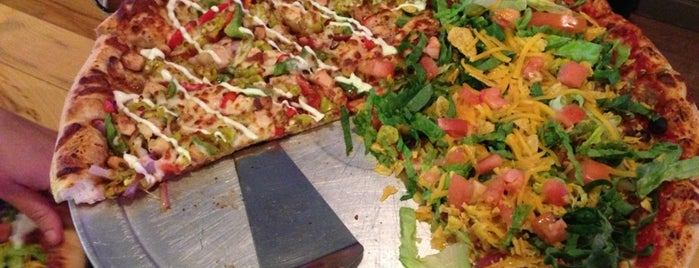 Rhombus Guys Pizza is one of Favorites.