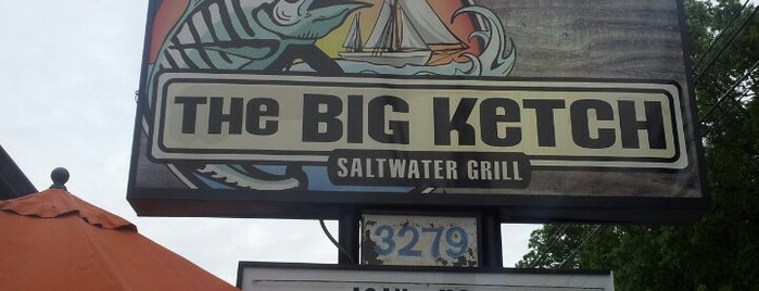 The Big Ketch Saltwater Grill is one of The 15 Best Places for a Seafood in Atlanta.