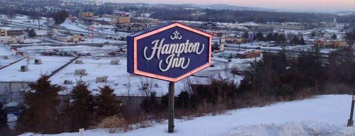 Hampton Inn & Suites Harrisonburg is one of Crash Pads.